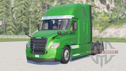 Freightliner Cascadia Techo Elevado 2019〡 rack de dolor de cabeza para Farming Simulator 2017