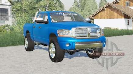 Dodge Ram 2500 Quad Cab 2006〡Setas de roca para Farming Simulator 2017