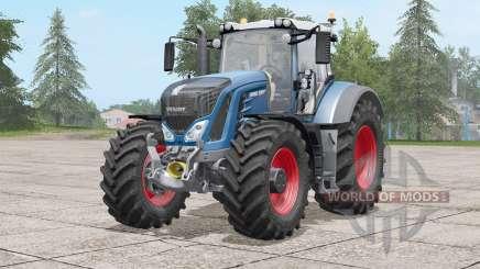 Fendt 900 Vario〡nueva rueda Michelin para Farming Simulator 2017