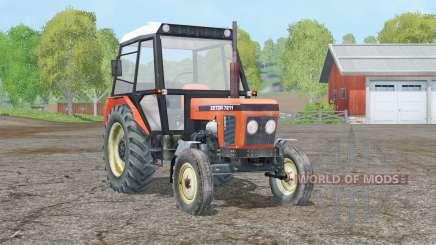 Zetor 7211〡 eje móvil para Farming Simulator 2015
