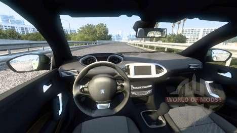 Peugeot 308 (T9) 2014 para American Truck Simulator
