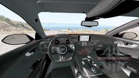 Audi RS 7 Sportback 2016 v1.2 para BeamNG Drive