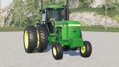John Deere 4640〡dual ruedas traseras para Farming Simulator 2017
