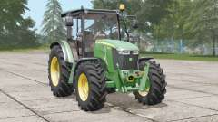 John Deere 5085Mconfiguración: ruedas para Farming Simulator 2017