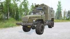 Ural-4320 6x6.1 carga para MudRunner
