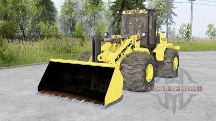 New Holland W170C v1.5 para Spin Tires