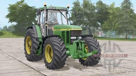 John Deere 7800〡wischer animiert para Farming Simulator 2017