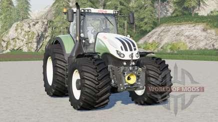 Steyr 6000 Terrus CVT〡Terra neumáticos añadidos para Farming Simulator 2017