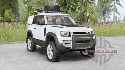 Land Rover Defender 90 D240 SE Adventure 2020 para Spin Tires