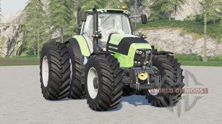 Deutz-Fahr Serie 7 ajustado para Farming Simulator 2017