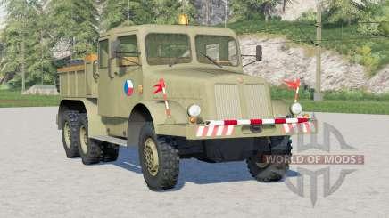 Tatra T141 1957〡pro tahání přívěsů para Farming Simulator 2017