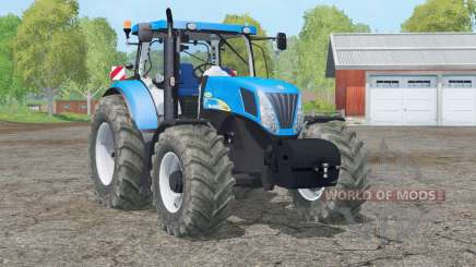 New Holland T7040 nuevo peso para Farming Simulator 2015