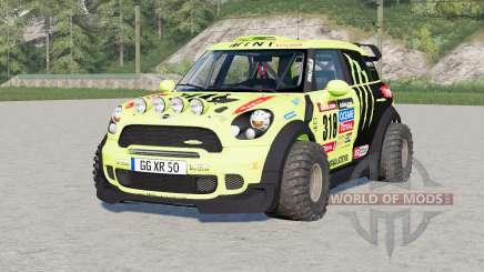 Mini John Cooper Works Countryman WRC Prototype (R60) 2010 para Farming Simulator 2017