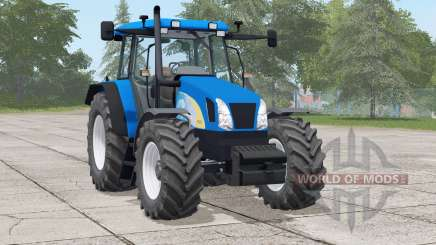 New Holland T5070 selección de energía para Farming Simulator 2017