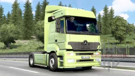 Mercedes-Benz Axor 1840 2001 v3.1 para Euro Truck Simulator 2