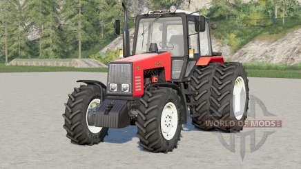 MTH-1221 Bielorrusia〡imimated pedales y asiento para Farming Simulator 2017