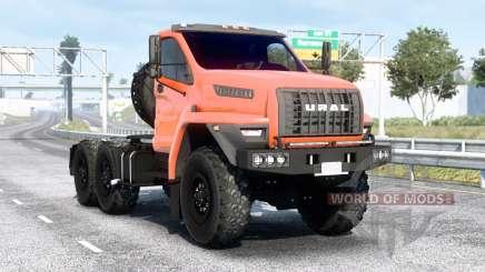 Ural Siguiente (44202-5311-74E5) v1.6 para American Truck Simulator