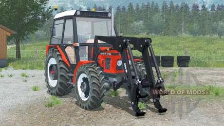 Zetor 7745 cargador frontal para Farming Simulator 2013