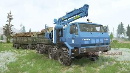 KRAz-7E-6316 Siberia〡s cargo para MudRunner