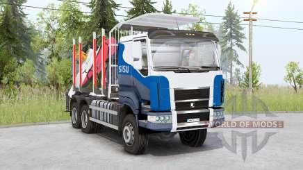 Sisu C600 Timber Truck v1.2 para Spin Tires