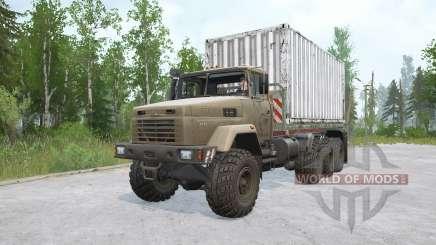 KRAz-7140N6 cargamentos para MudRunner