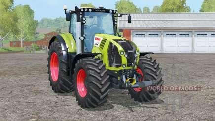 Claas Axion 870 eje delantero para Farming Simulator 2015
