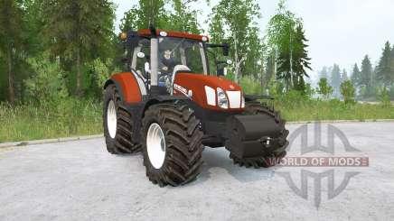 New Holland T6.175〡pendelachse para MudRunner