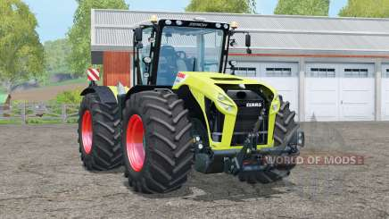 Claas Xerion 4500 Trac VC〡ta de cabina rotante para Farming Simulator 2015