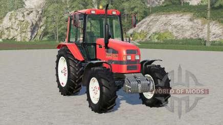 MTK-1221.4 Bielorrusia 〡s recogiendo ruedas para Farming Simulator 2017
