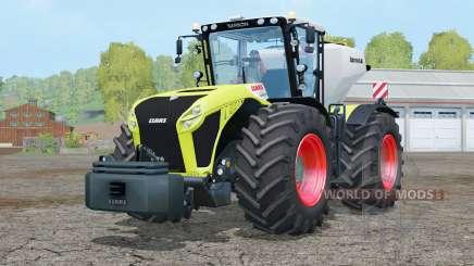 Claas Xerion 4500 Trac VC〡incluido es un peso para Farming Simulator 2015