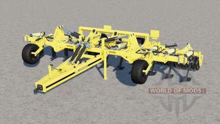 Agrisem Cultiplow Platinum velocidad de trabajo 25 km-h para Farming Simulator 2017