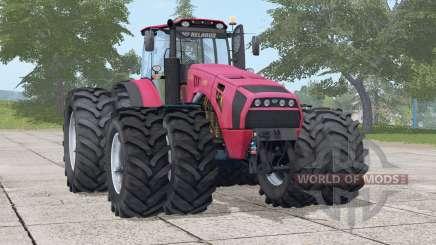 MTK-4522 Bielorrusia〡 ruedas adicionales para Farming Simulator 2017