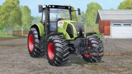 Claas Axion 830〡control interactivo para Farming Simulator 2015