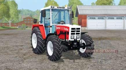 Steyr 8090A Turbo〡 eje inmueble para Farming Simulator 2015