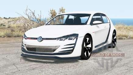 Volkswagen Design Vision GTI 2013 para BeamNG Drive