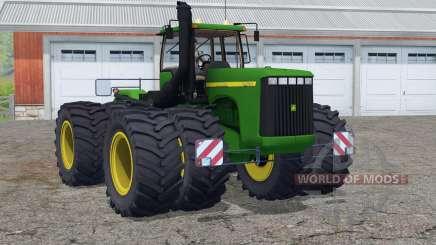 John Deere 9400〡nuevo sonido del motor para Farming Simulator 2015