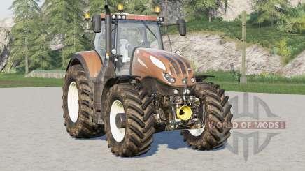 Steyr 6000 Terrus CVTadded una cámara trasera fija para Farming Simulator 2017