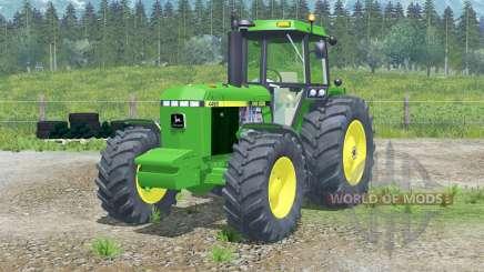 John Deere 4455〡full sistema de luces para Farming Simulator 2013