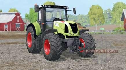 Claas Arion 620〡dinámico sistema de escape para Farming Simulator 2015