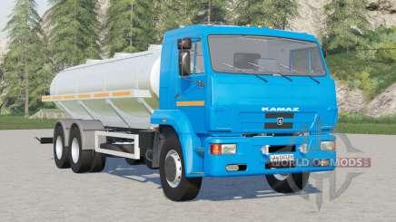 Kamaz-65117 Locomotora de leche para Farming Simulator 2017