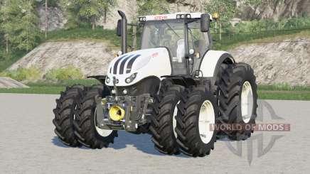 Steyr 6000 Terrus CVT〡narrow duals wheels para Farming Simulator 2017