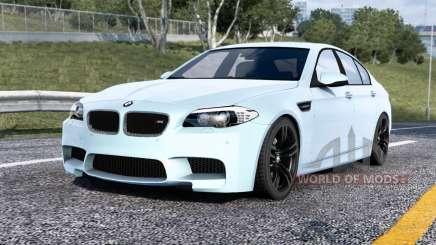 BMW M5 (F10) 2013 v1.4 para American Truck Simulator