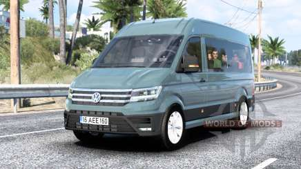 Volkswagen Crafter L1H2 Bus 2017 para American Truck Simulator