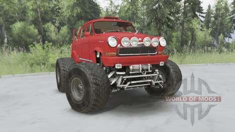 GAZ-21 Monstruo para Spin Tires