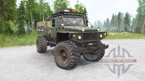 ZVM-39082 Siver 4х4 para Spintires MudRunner