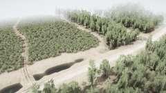 Área forestal 6: Introducción v1.3 para MudRunner