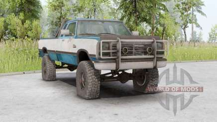 Dodge Power Ram 250 Club Cab 1990 para Spin Tires