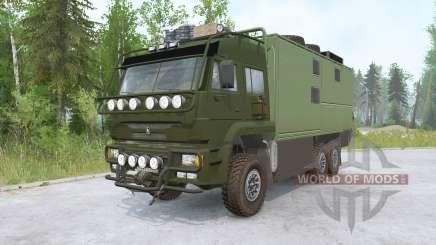 Kamaz-635050 para MudRunner