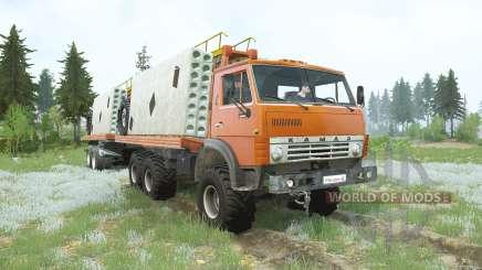 Kamaz-4310 carga para MudRunner