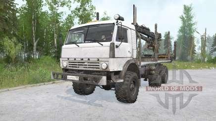 KAMAZ-43114 6x6 para MudRunner